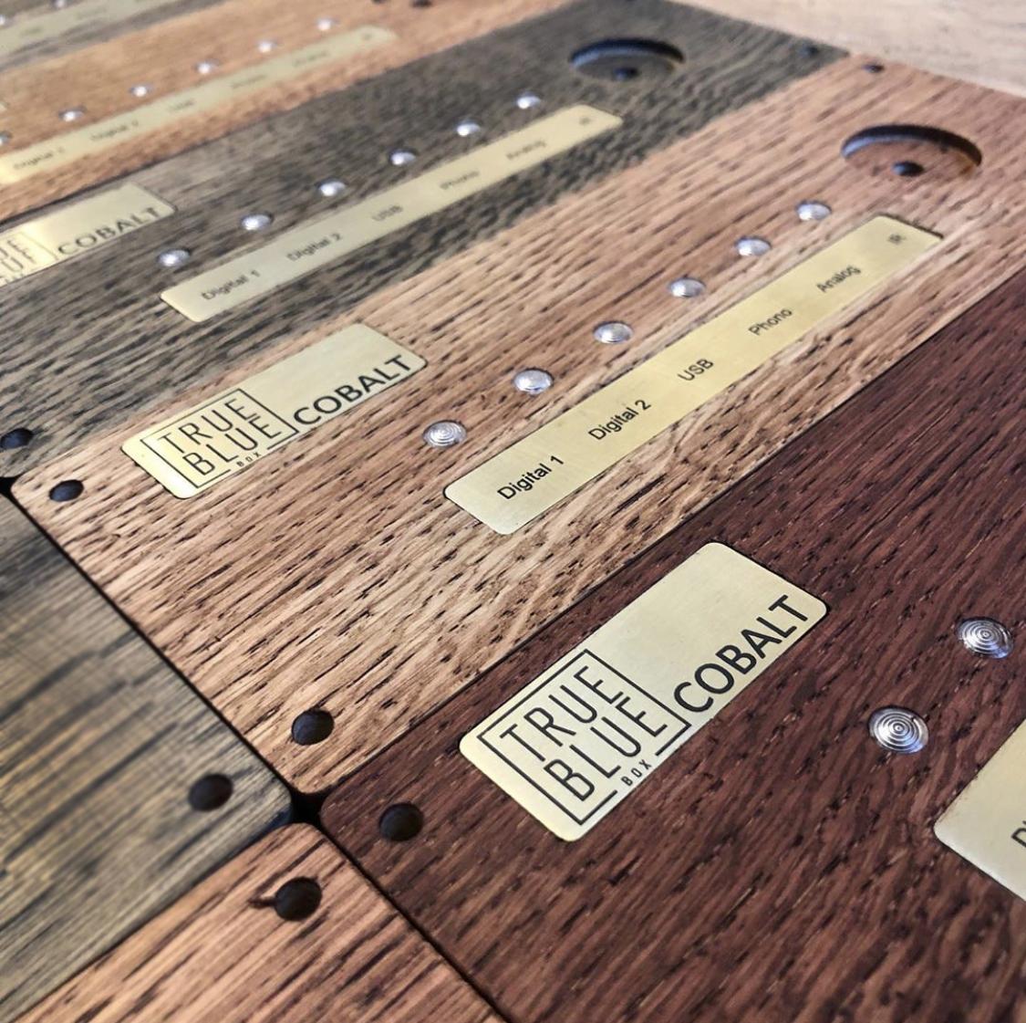 COBALT DA houten frontjes