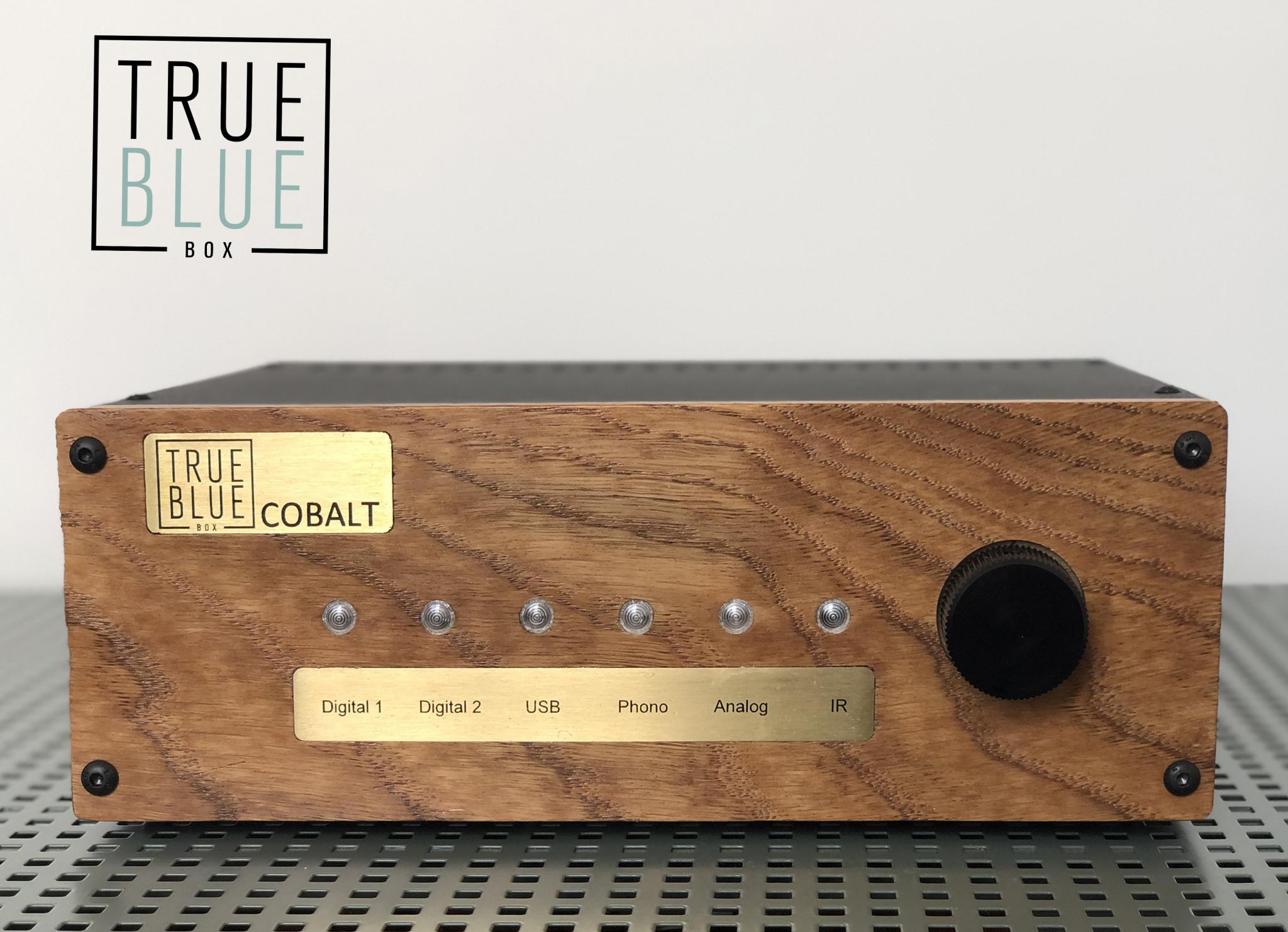 True Blue Box COBALT DA 18