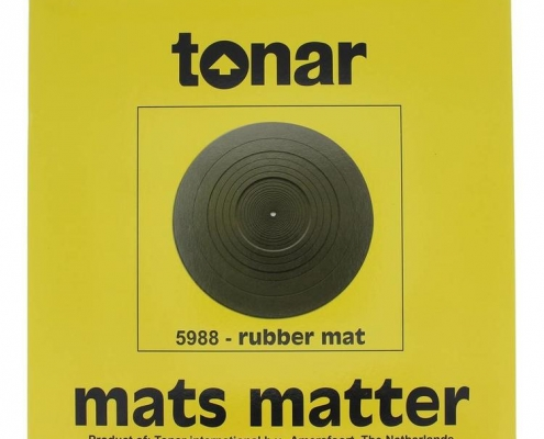 tonar rubber turntable mat 1