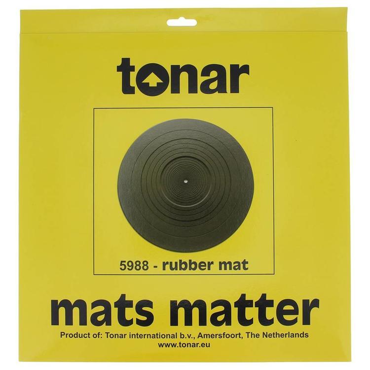 tonar rubber turntable mat 1