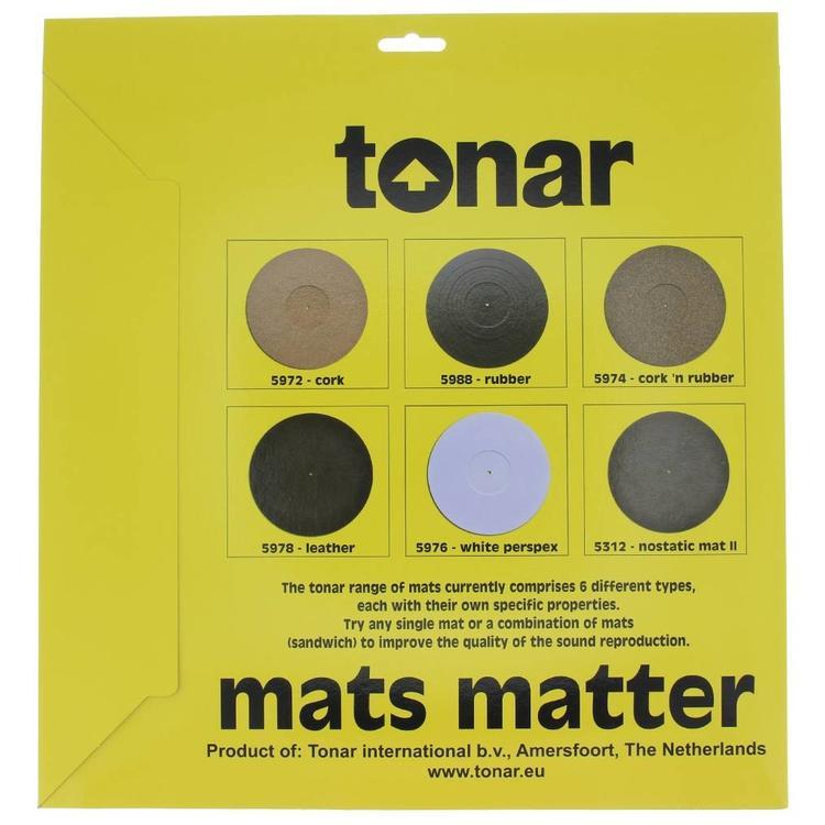 tonar rubber turntable mat 2