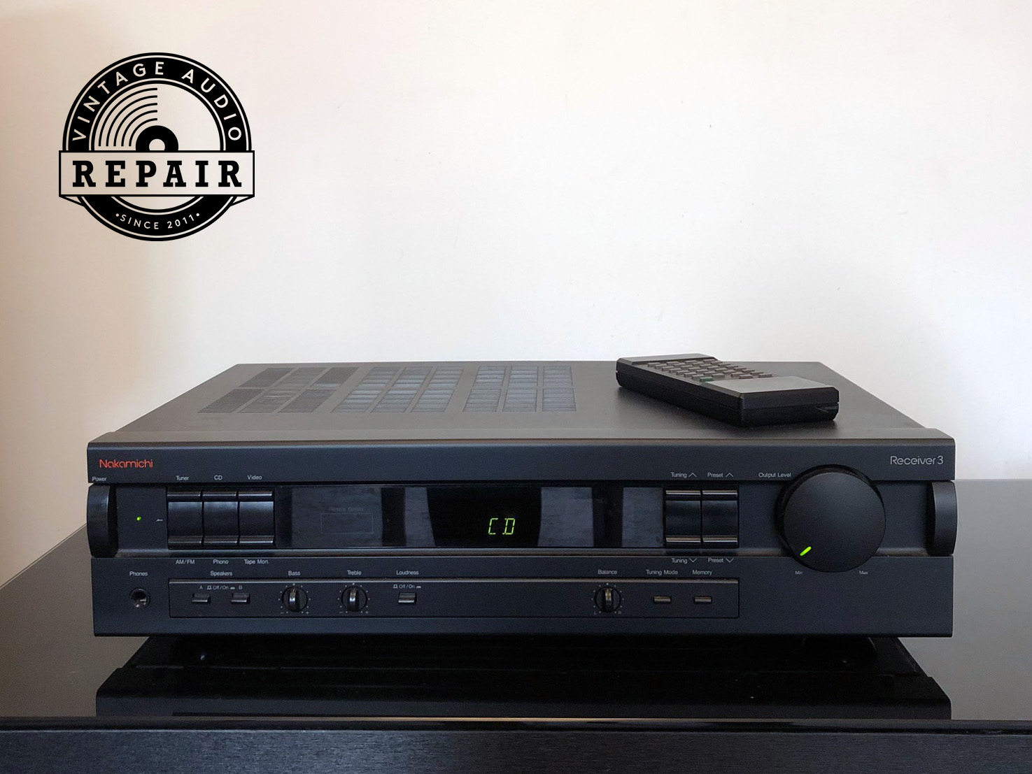 Nakamichi Receiver 3 1 front 1