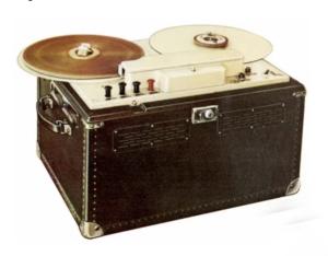 De AEG K1 Magnetophon uit 1935 1