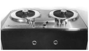 De Ampex Model 200 tapedeck