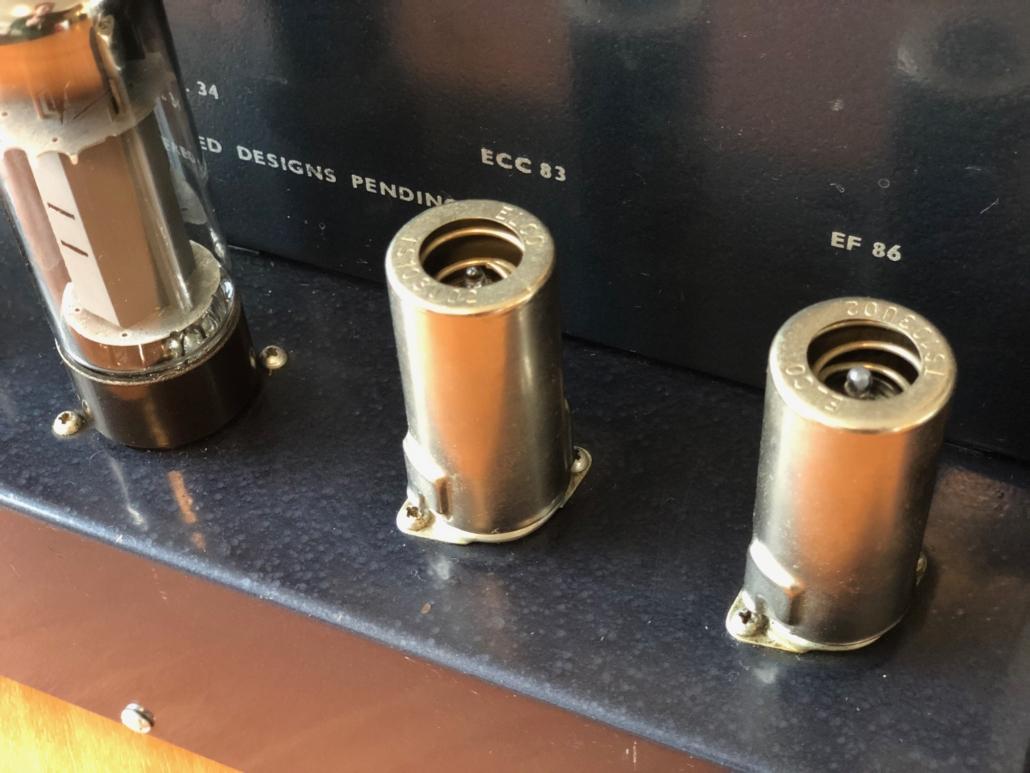 Beam Echo Avantic DL7 35 Vintage Audio Repair14