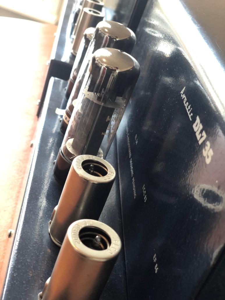 Beam Echo Avantic DL7 35 Vintage Audio Repair16