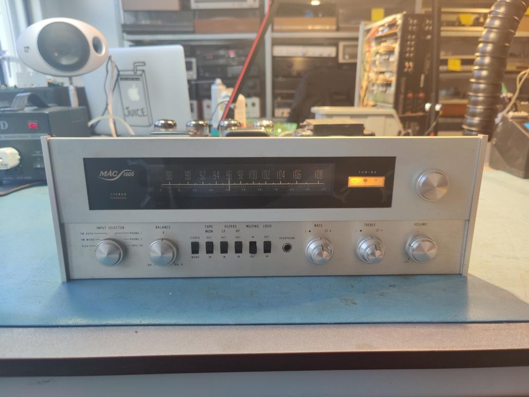 Macintosh MAC1500 VintageAudioRepair 1