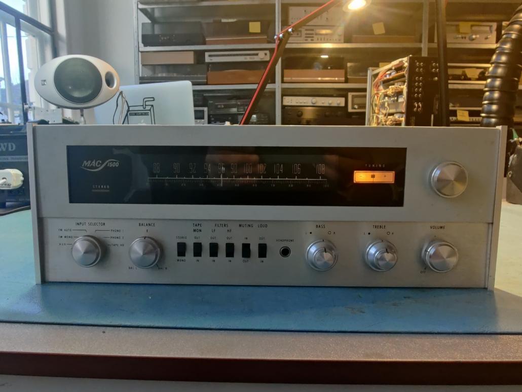 Macintosh MAC1500 VintageAudioRepair 3