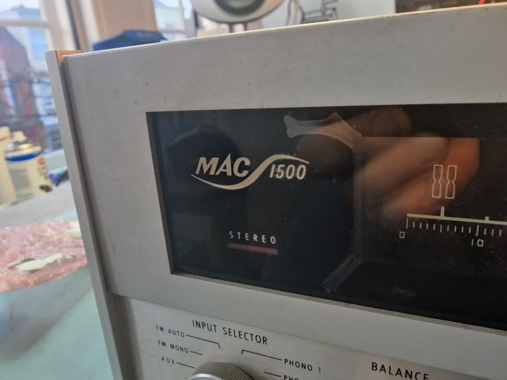 Macintosh MAC1500 VintageAudioRepair 6