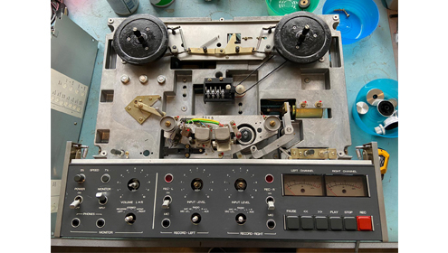 Revox B77 MKII blog Vintage Audio Repair