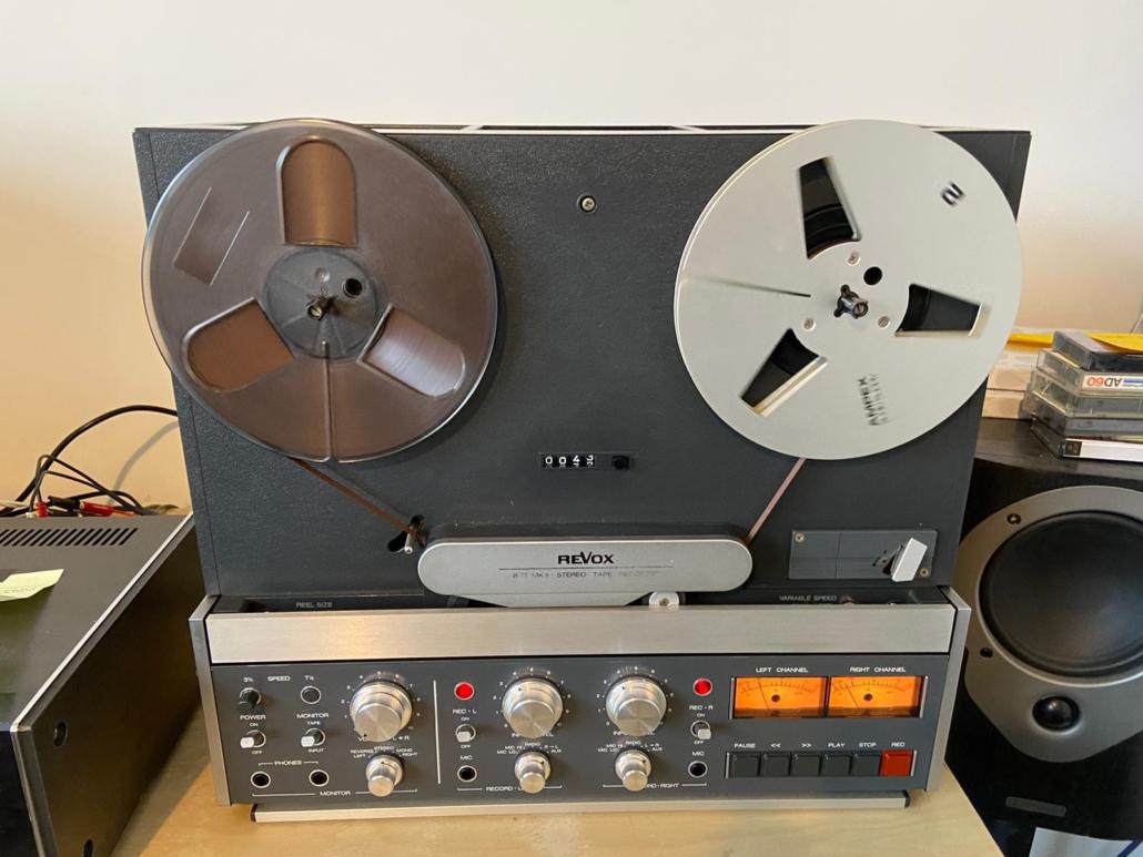 Revox B77 Vintage Audio Repair 1
