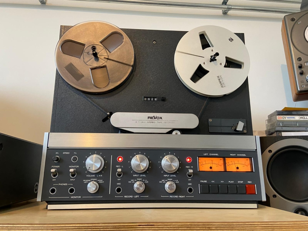 Revox B77 Vintage Audio Repair 10