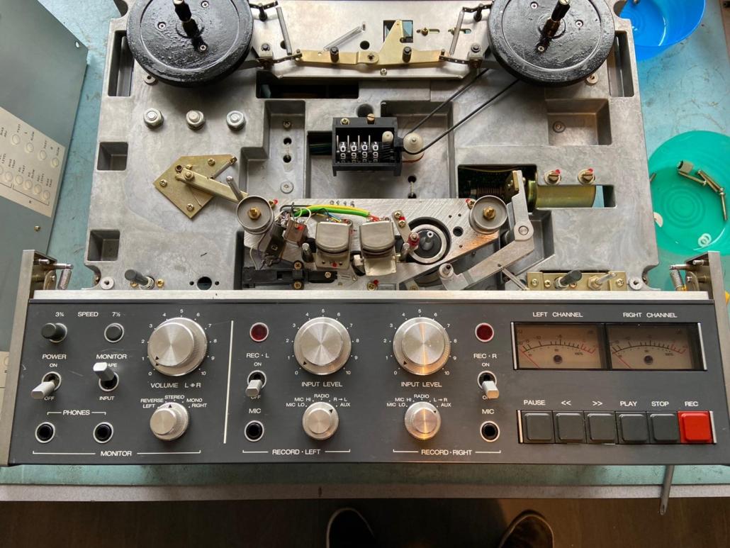 Revox B77 Vintage Audio Repair 11