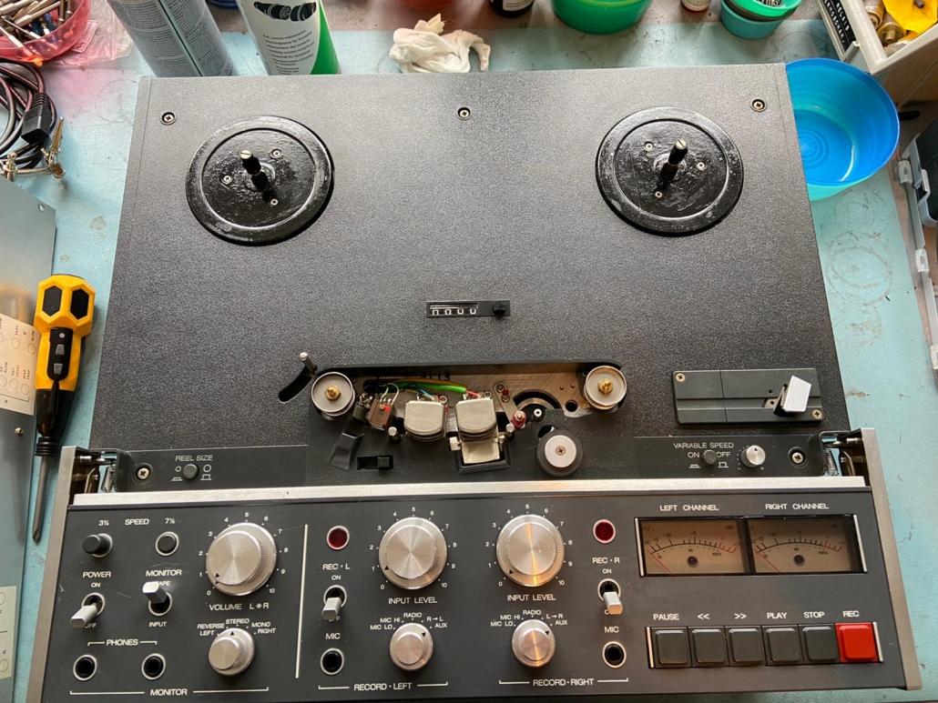 Revox B77 Vintage Audio Repair 12