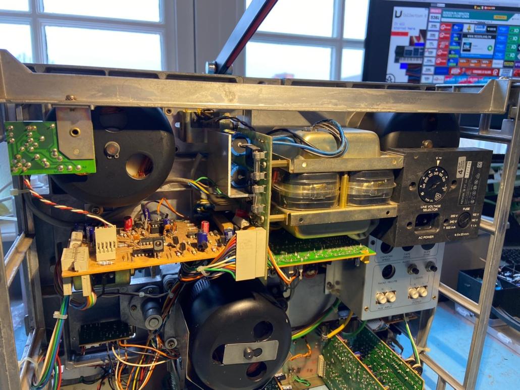 Revox B77 Vintage Audio Repair 4