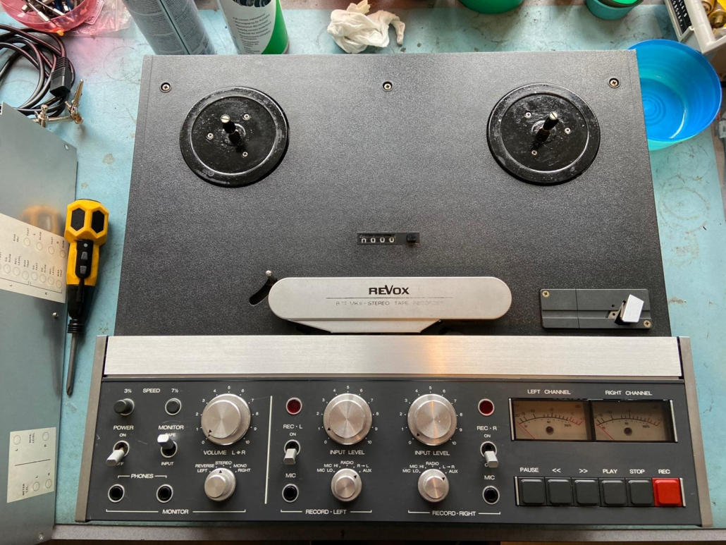 Revox B77 Vintage Audio Repair 7