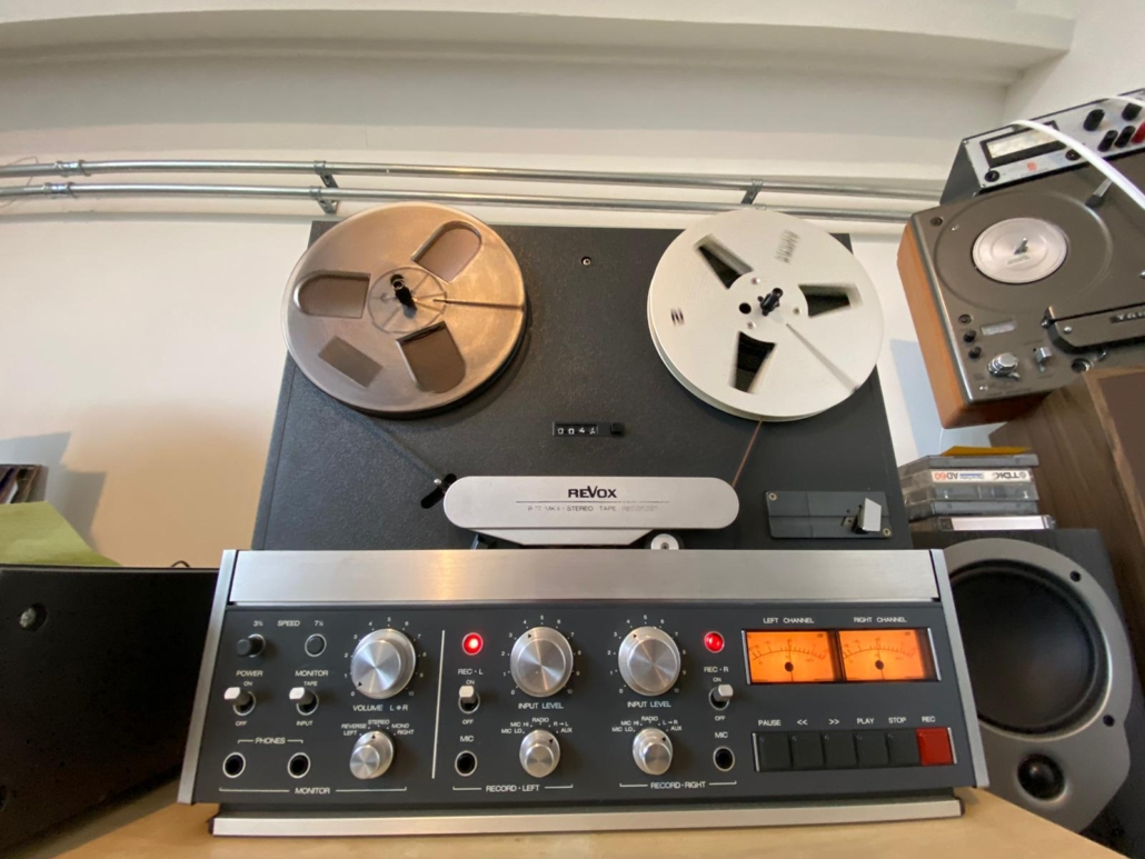 Revox B77 Vintage Audio Repair 9