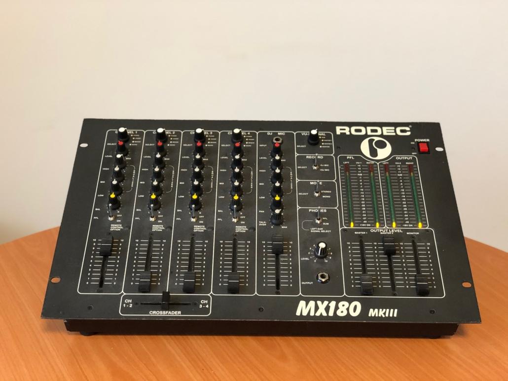 Rodec MX 180 MKIII Vintage Audio Repair 15