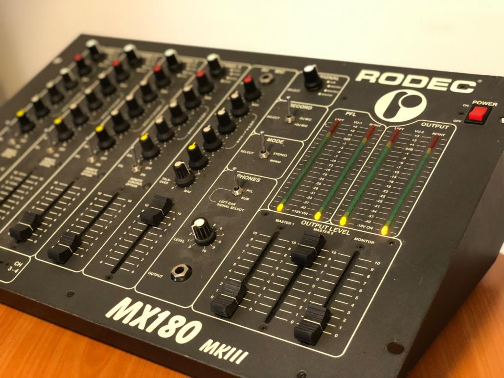 Rodec MX 180 MKIII Vintage Audio Repair 16