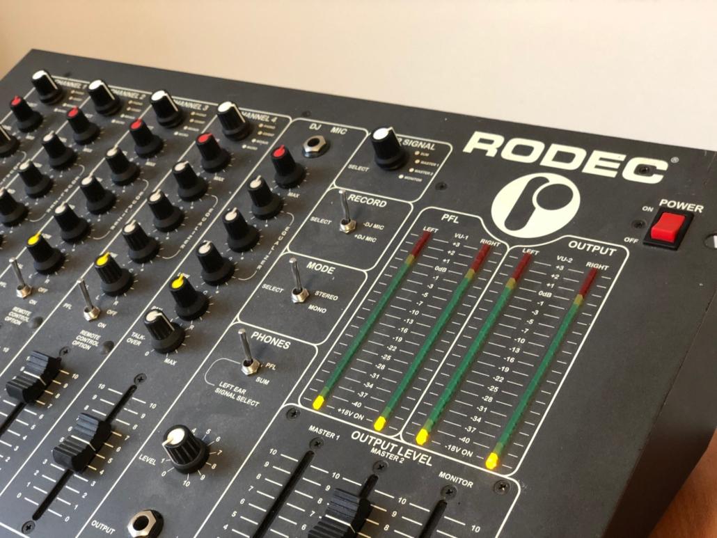 Rodec MX 180 MKIII Vintage Audio Repair 3 1