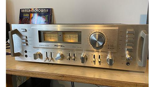 Rotel RA 1412 blog vintage audio repair