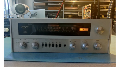 blog mcintosh 1500 vintage audio repair
