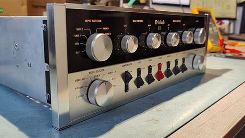 Blog Mcintosh C11 Vintage Audio Repair