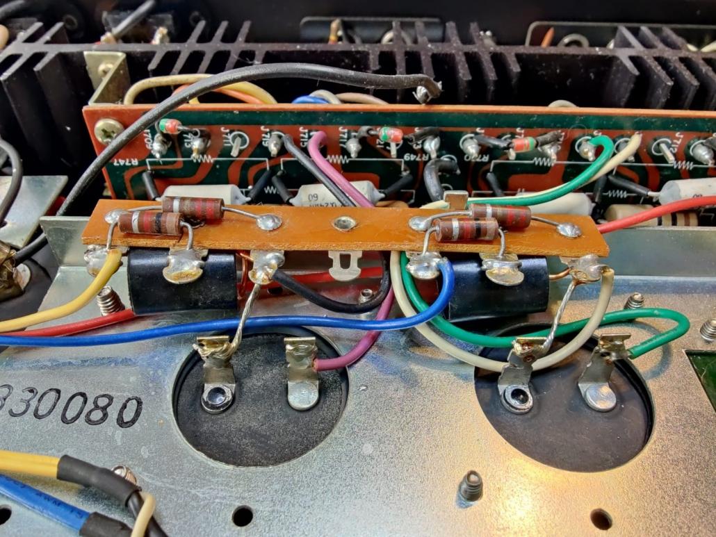 Marantz 1060 revisie Vintage Audio Repair 10 1
