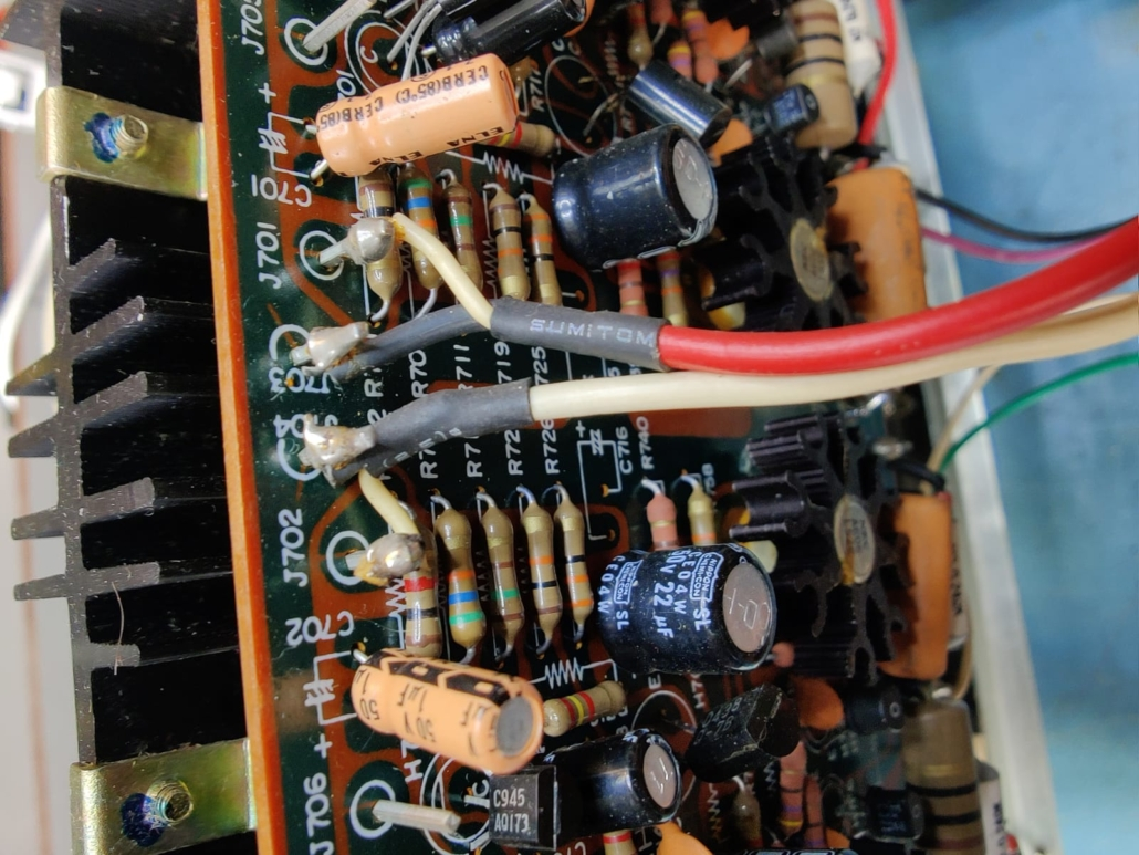 Marantz 1060 revisie Vintage Audio Repair 11 1