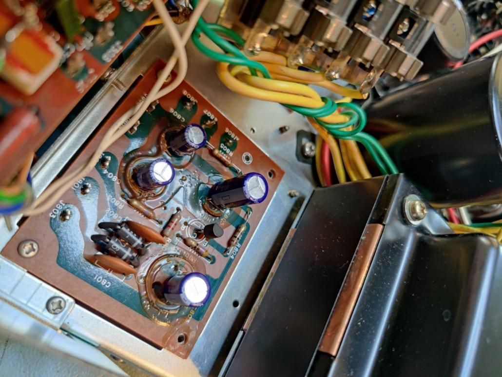 Marantz 1060 revisie Vintage Audio Repair 8 1