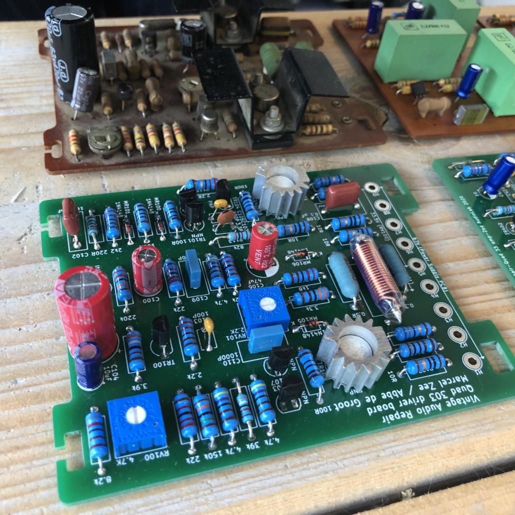 Quad 33 303 PCB Vintage Audio Repair 8