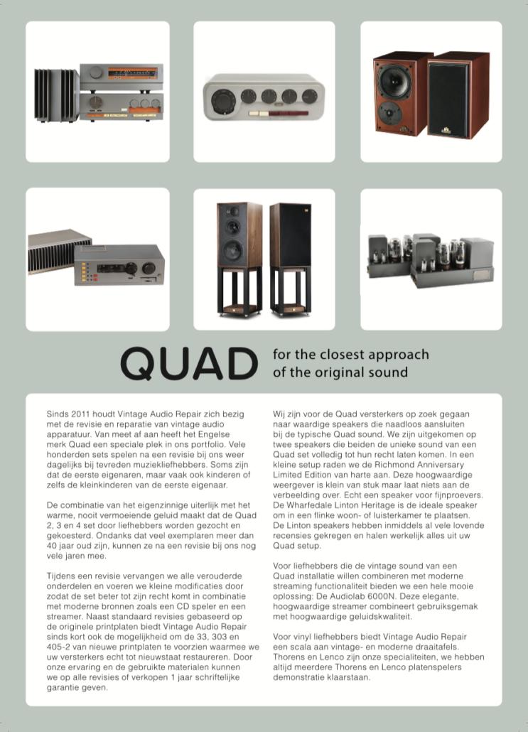 Quad flyer voorkant