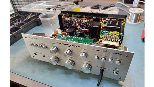 blog Marantz 1060 Vintage Audio Repair