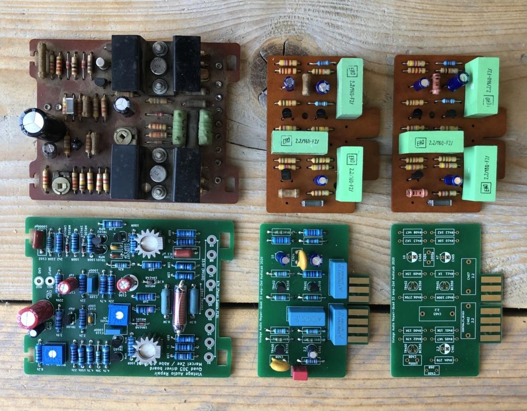 Quad 33 303 PCB Vintage Audio Repair 11