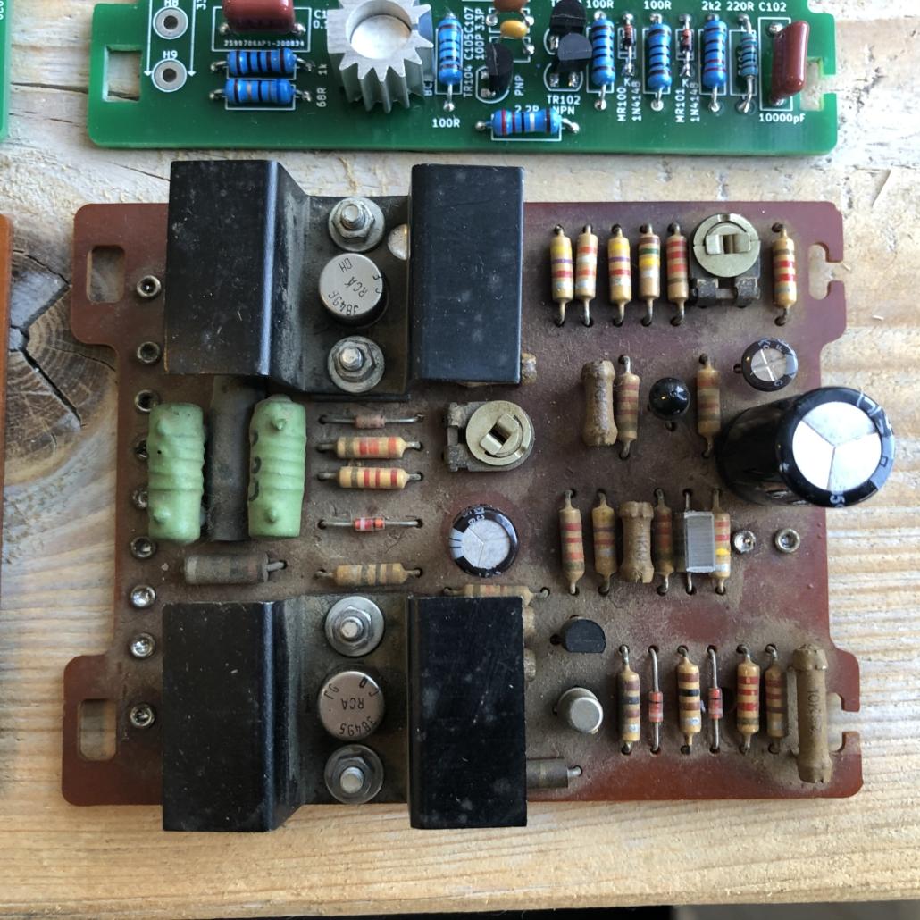 Quad 33 303 PCB Vintage Audio Repair 3
