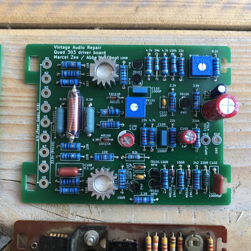 Quad 33 303 PCB Vintage Audio Repair 5