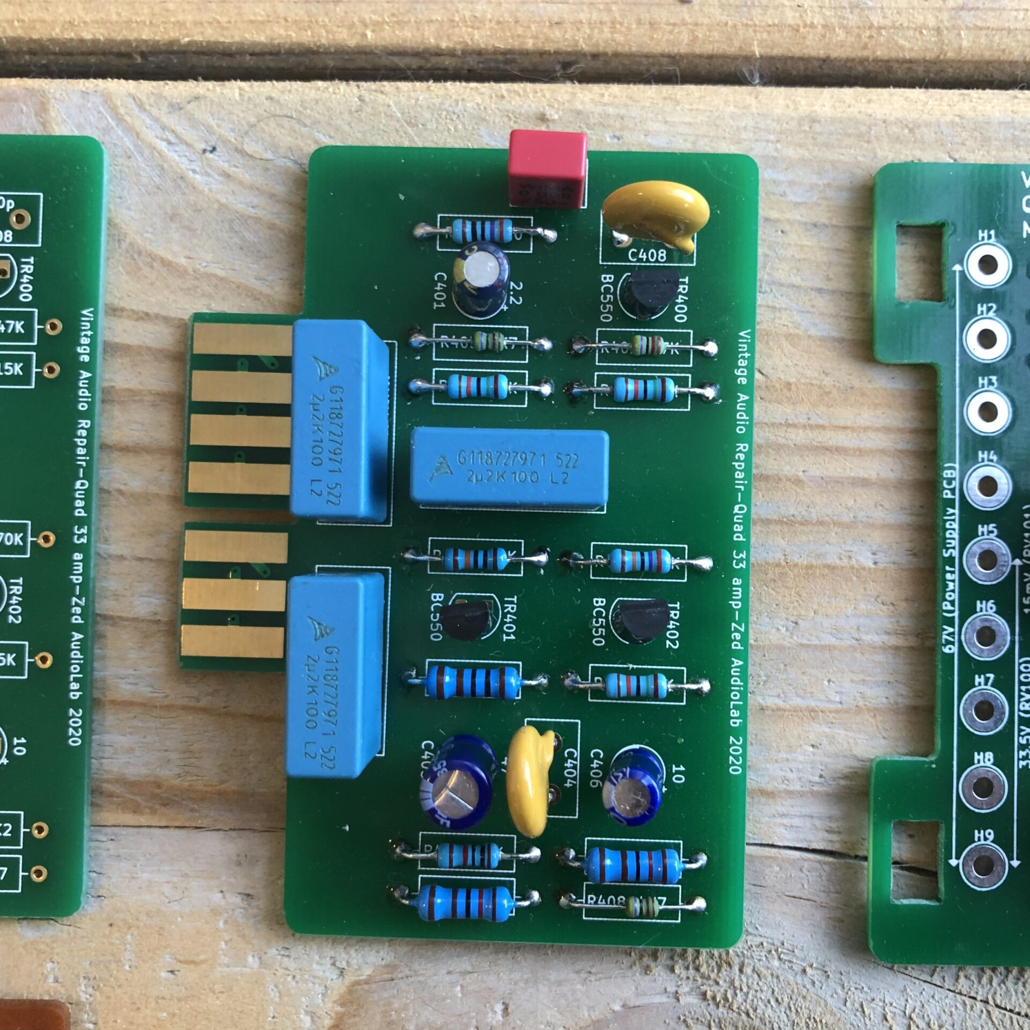Quad 33 303 PCB Vintage Audio Repair 6