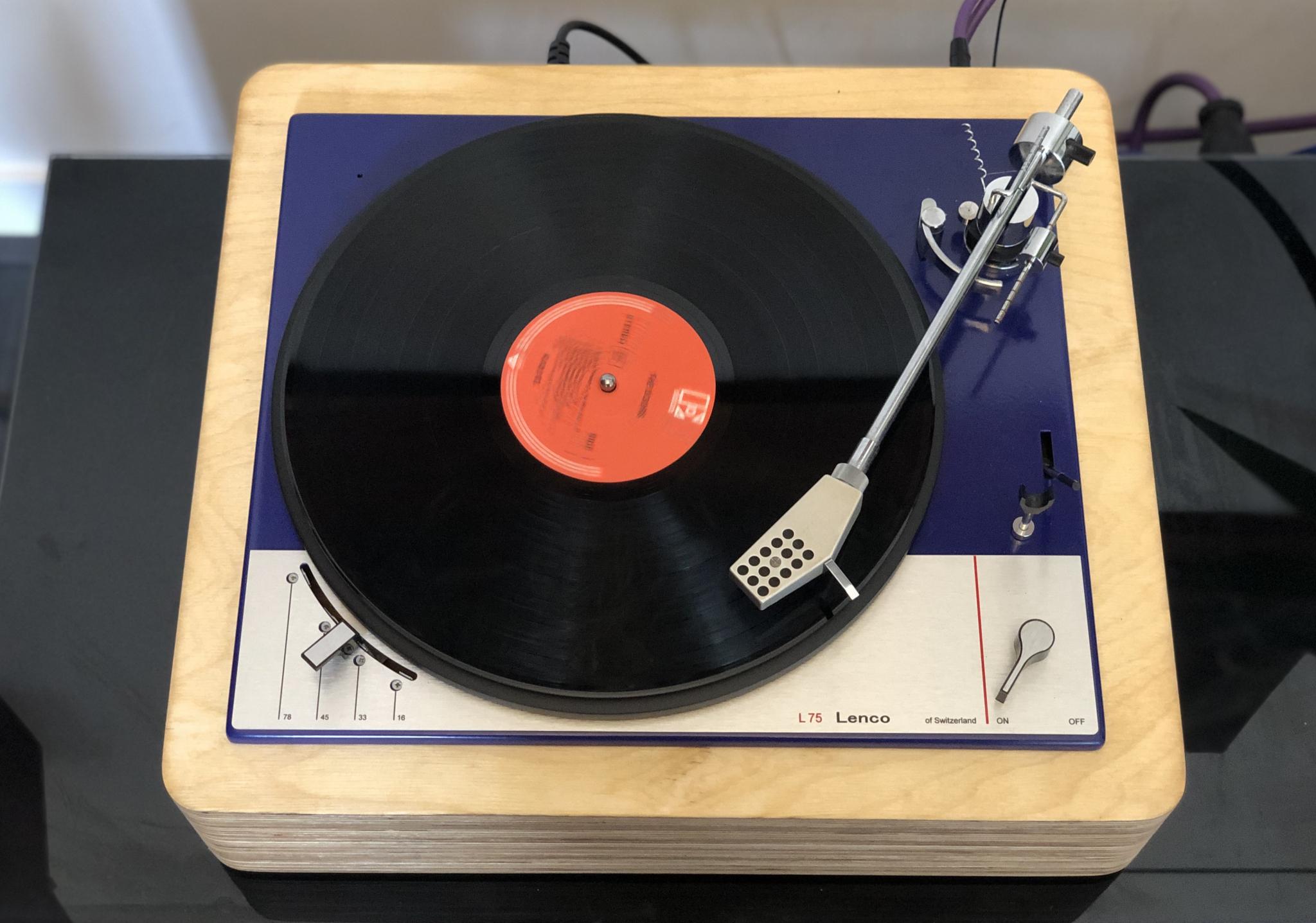 Lenco L75 Blue Ocean II Vintage Audio Repair 11