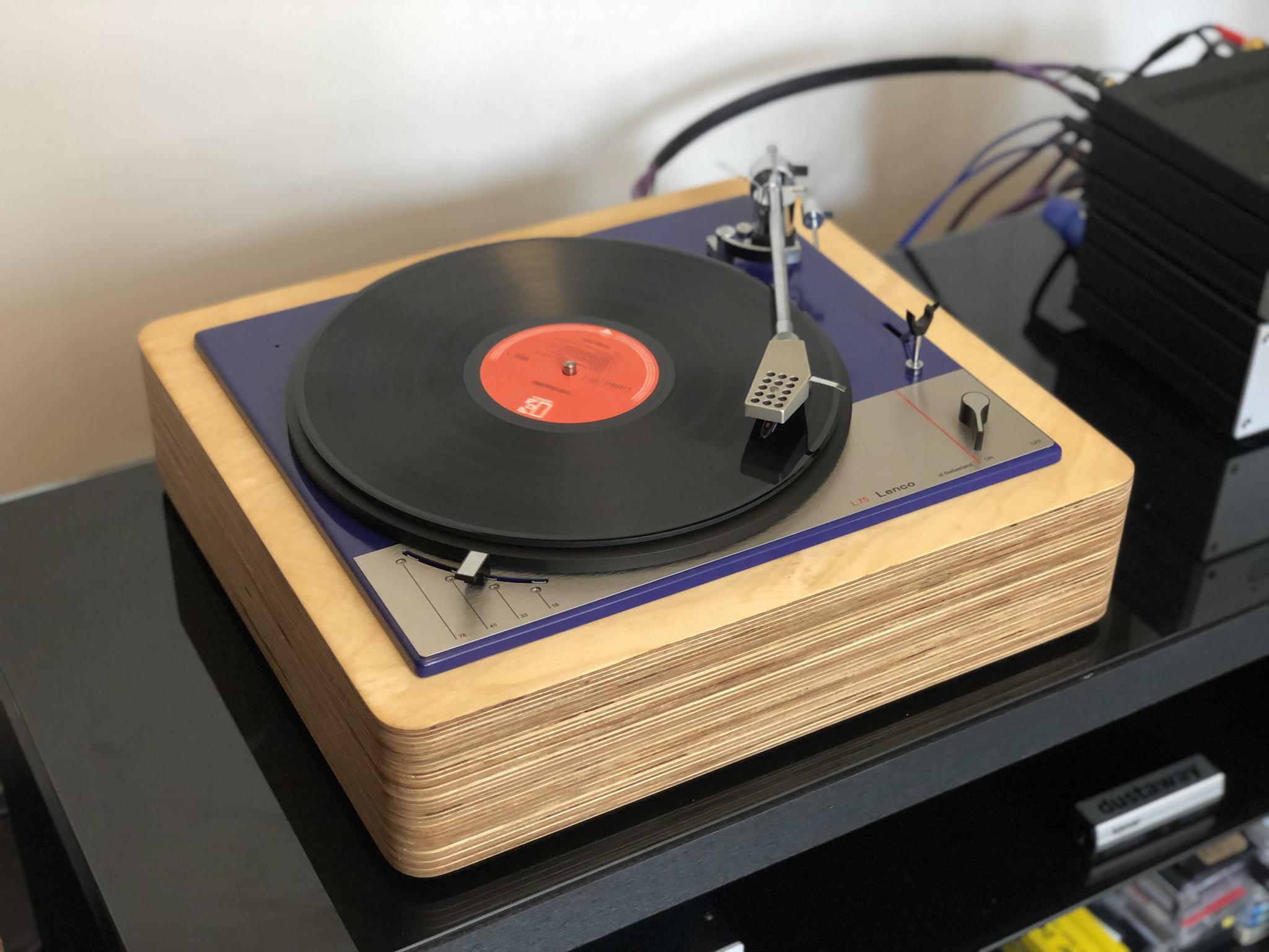 Lenco L75 Blue Ocean II Vintage Audio Repair 14