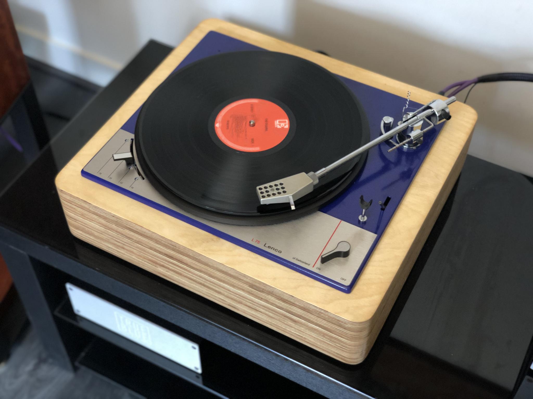 Lenco L75 Blue Ocean II Vintage Audio Repair 2