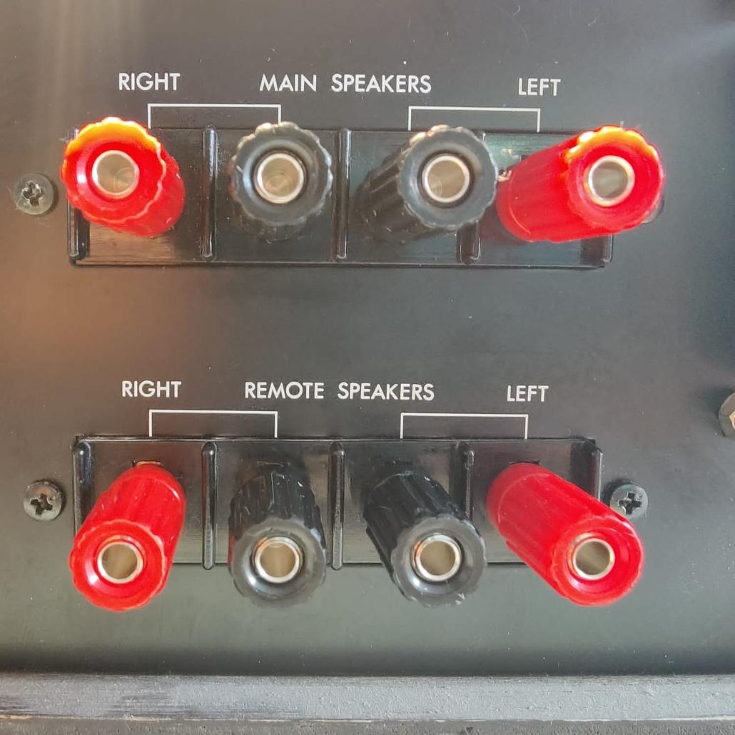 Luxman L30 L31 speakerterminals Vintage Audio Repair 11