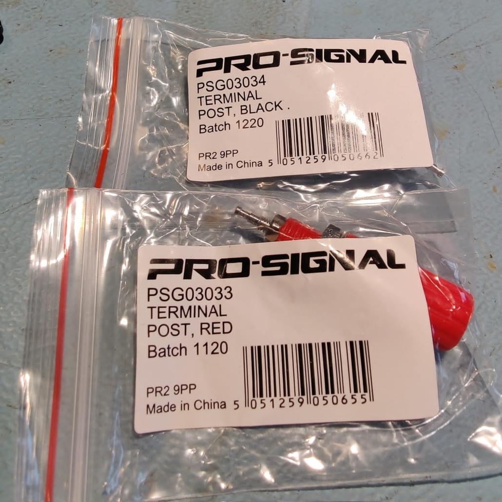 Luxman L30 L31 speakerterminals Vintage Audio Repair 4