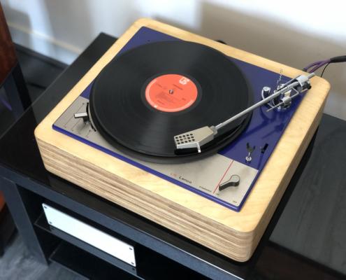 front Lenco L75 Blue Ocean II Vintage Audio Repair 3