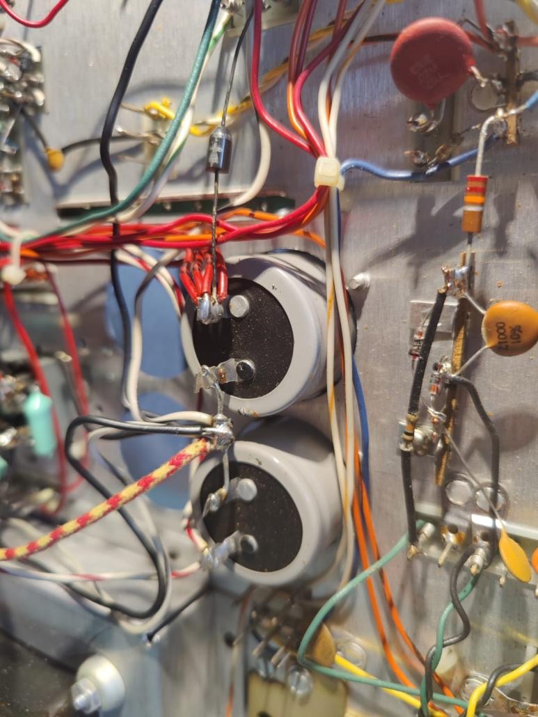 H.H. Scott R75S Vintage Audio Repair 11