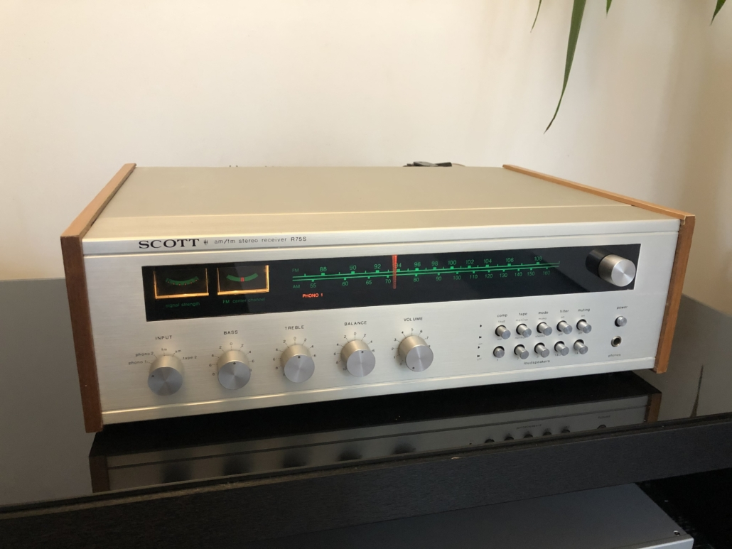 H.H. Scott R75S Vintage Audio Repair 110