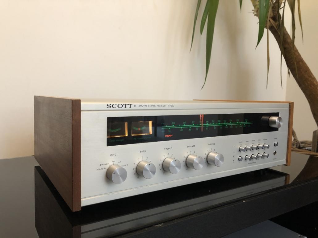 H.H. Scott R75S Vintage Audio Repair 111
