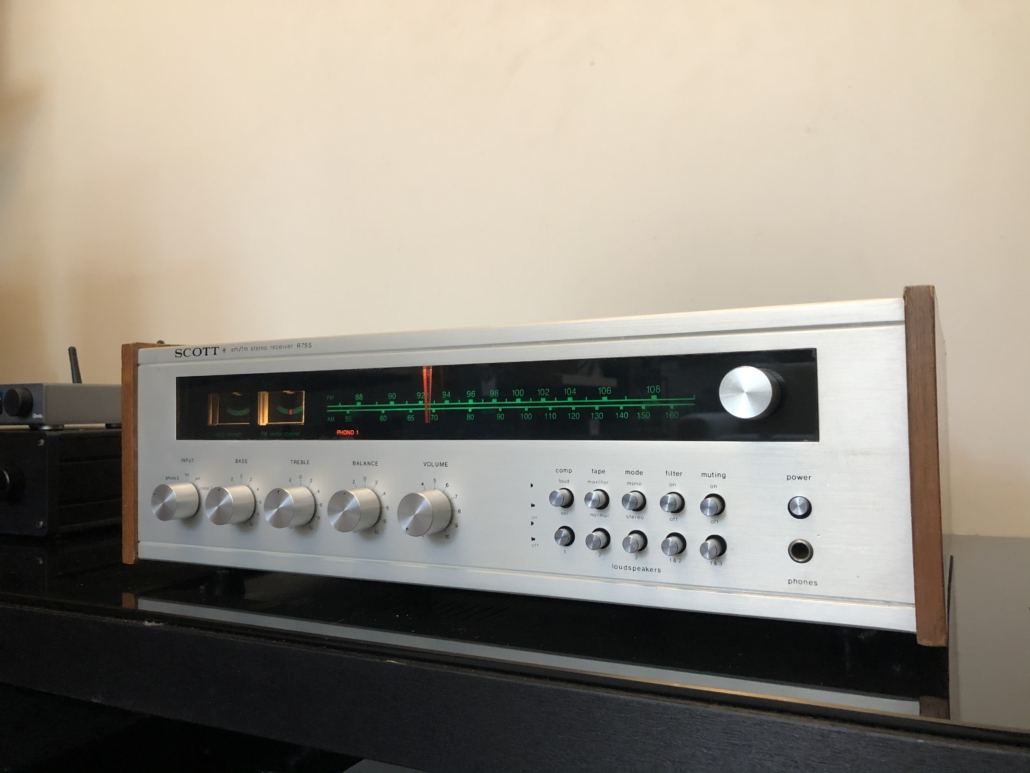 H.H. Scott R75S Vintage Audio Repair 112