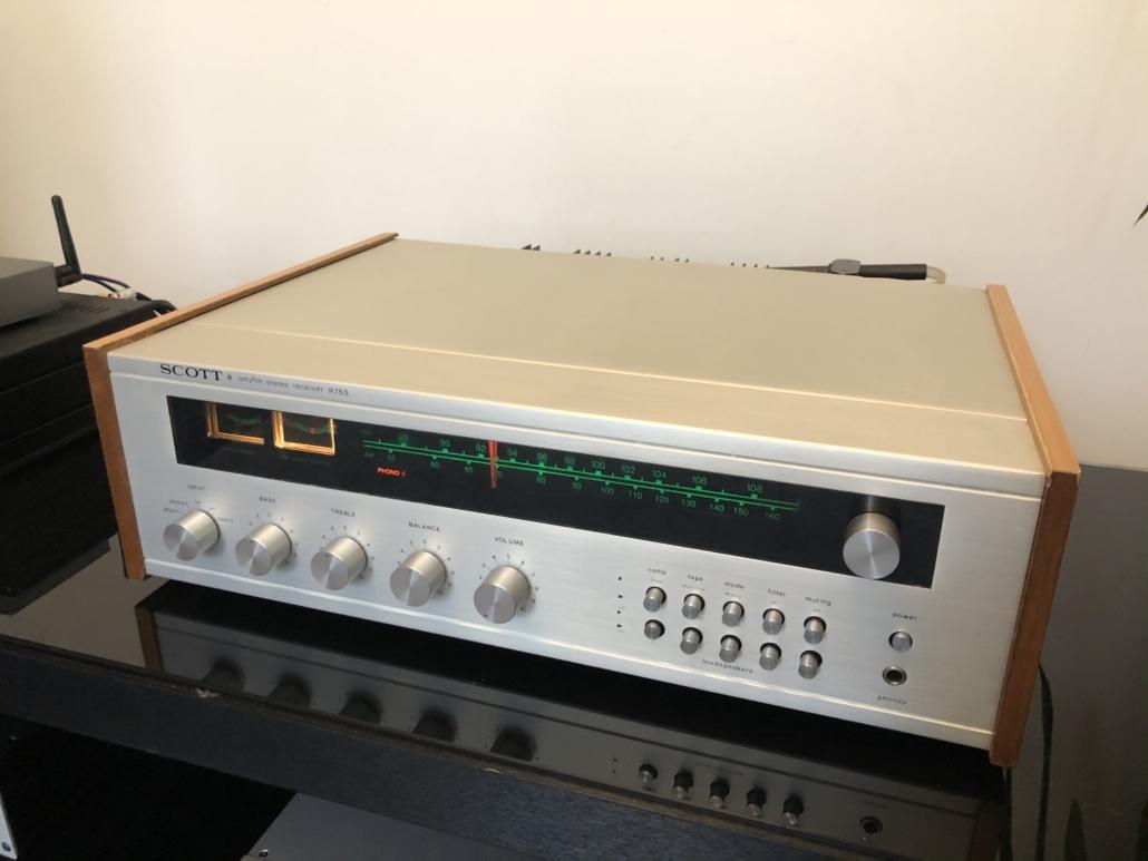 H.H. Scott R75S Vintage Audio Repair 113