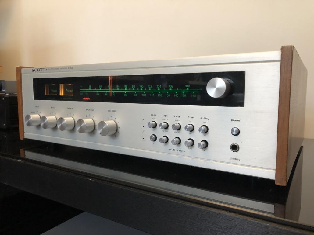 H.H. Scott R75S Vintage Audio Repair 116