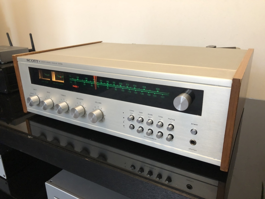 H.H. Scott R75S Vintage Audio Repair 117
